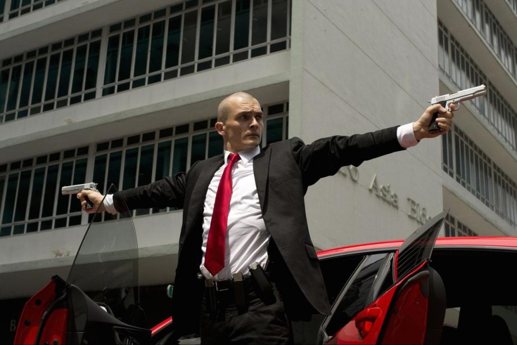Homeland's Rupert Friend as Agent 47 in the upcoming movie. Image credit: Screenrant