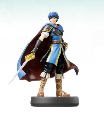 This is what the Marth Amiibo should look like