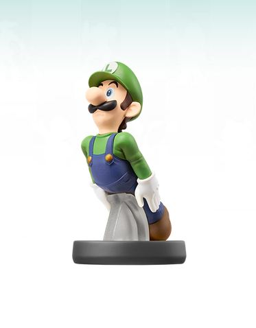 This is what the Luigi Amiibo should look like
