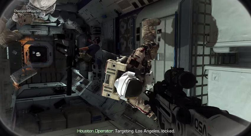 2013's Call of Duty: Ghosts featured a space section