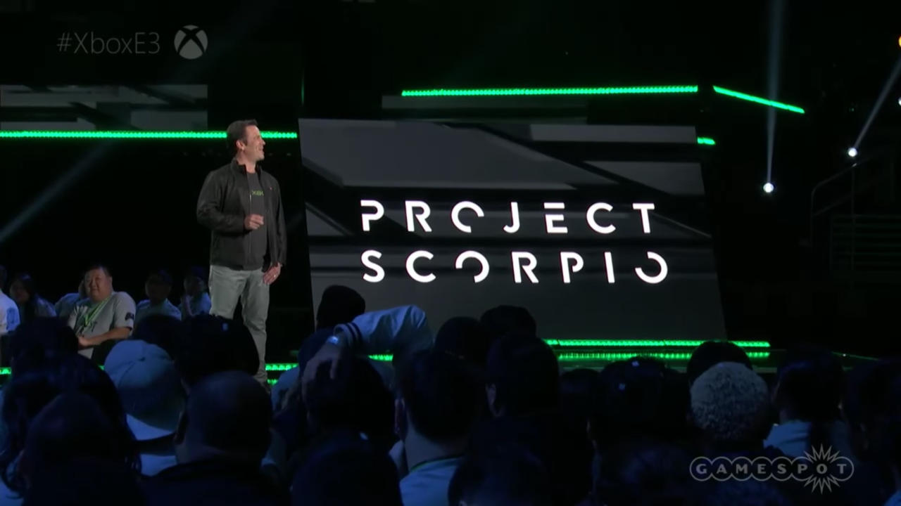 Microsoft's Project Scorpio was announced at E3 this year