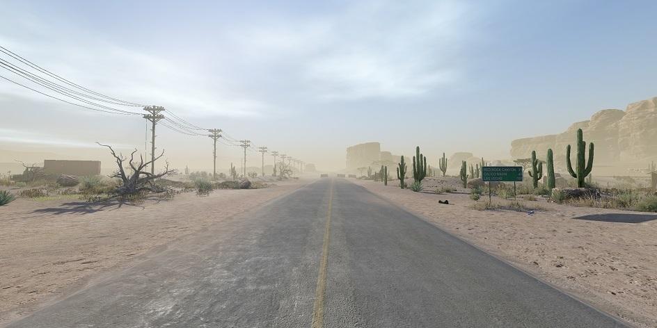 A peek of the new Warface Battle Royale map