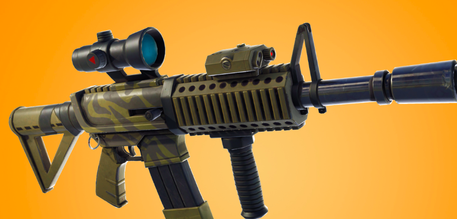 The new thermal scope assault rifle