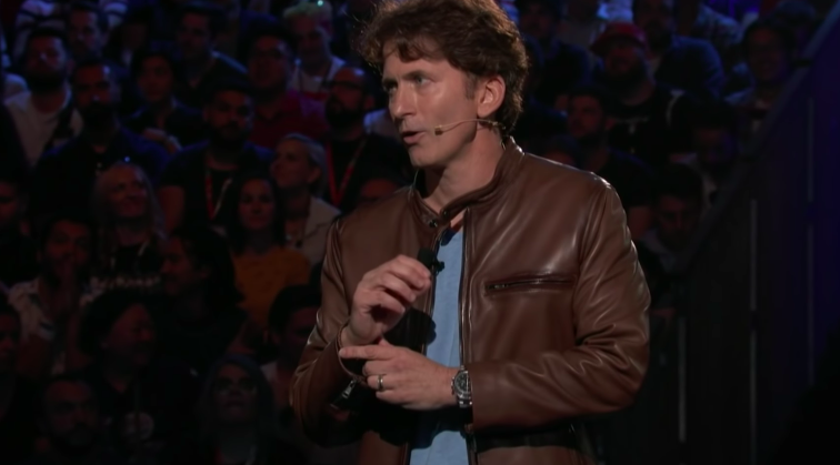 Todd Howard is a boss at Bethesda and a boss in real life