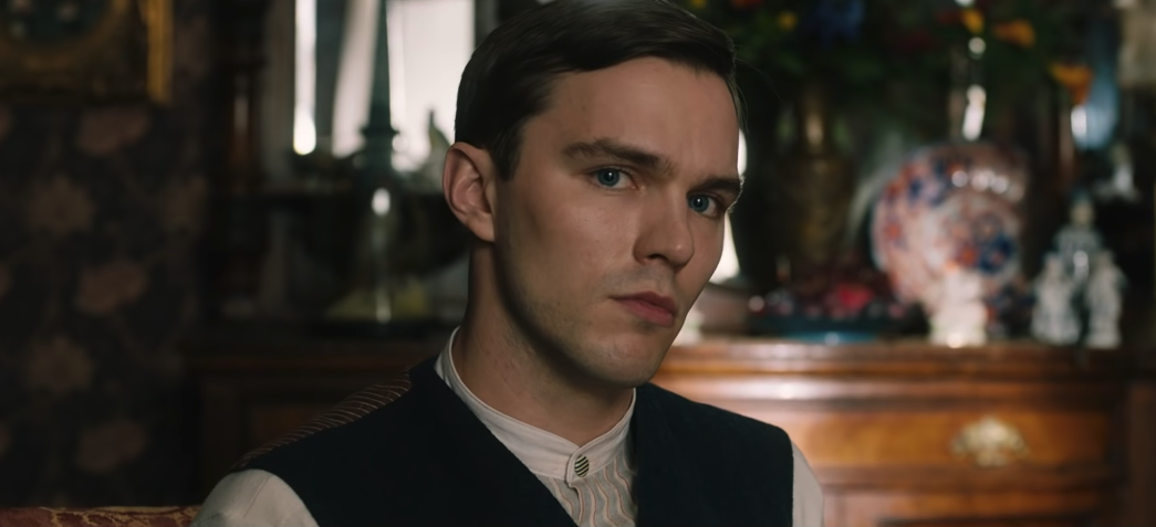 Hoult as Tolkien