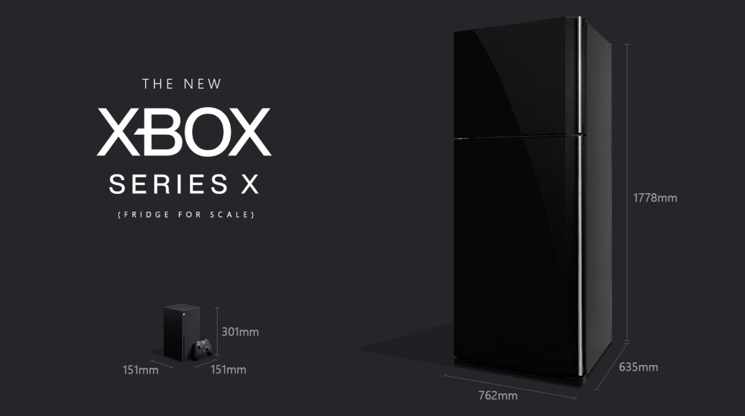 The Xbox Series X is big, but it's not THAT big