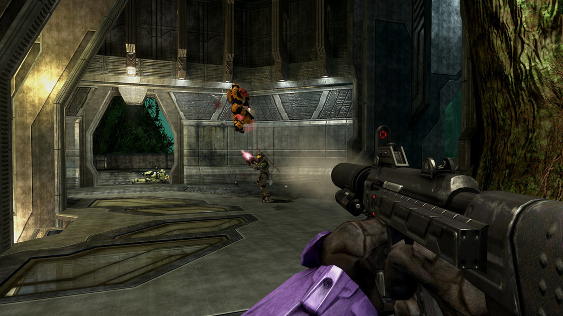 The Silenced SMG is coming to Halo 3