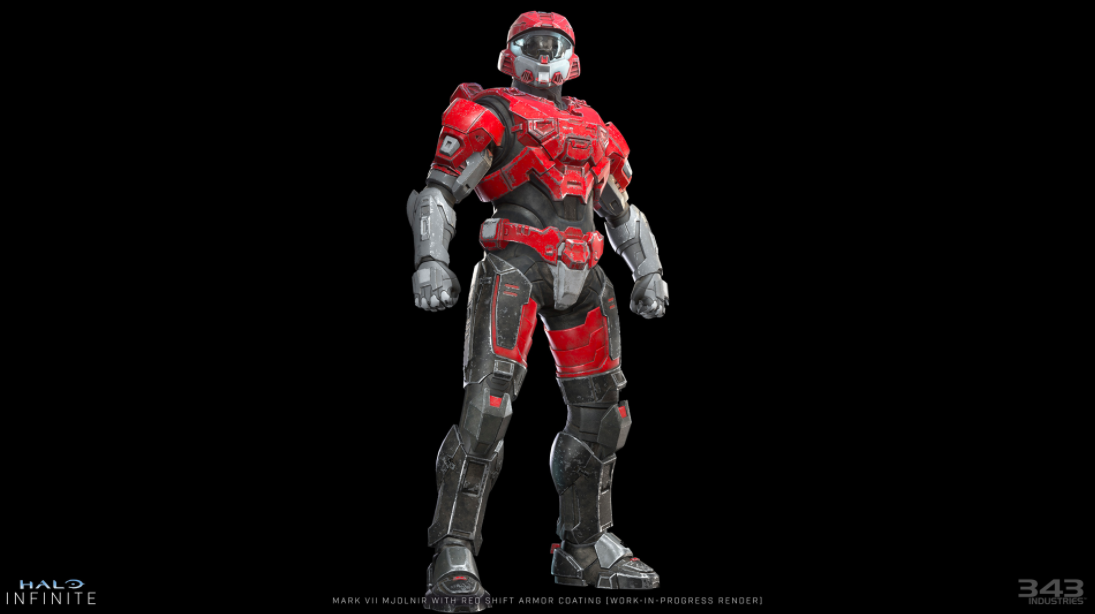 This Halo Infinite coating is exclusive to GameStop