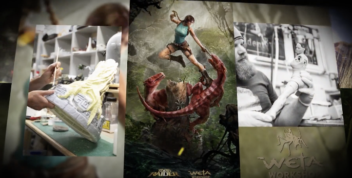 A new look at Weta's Tomb Raider statue