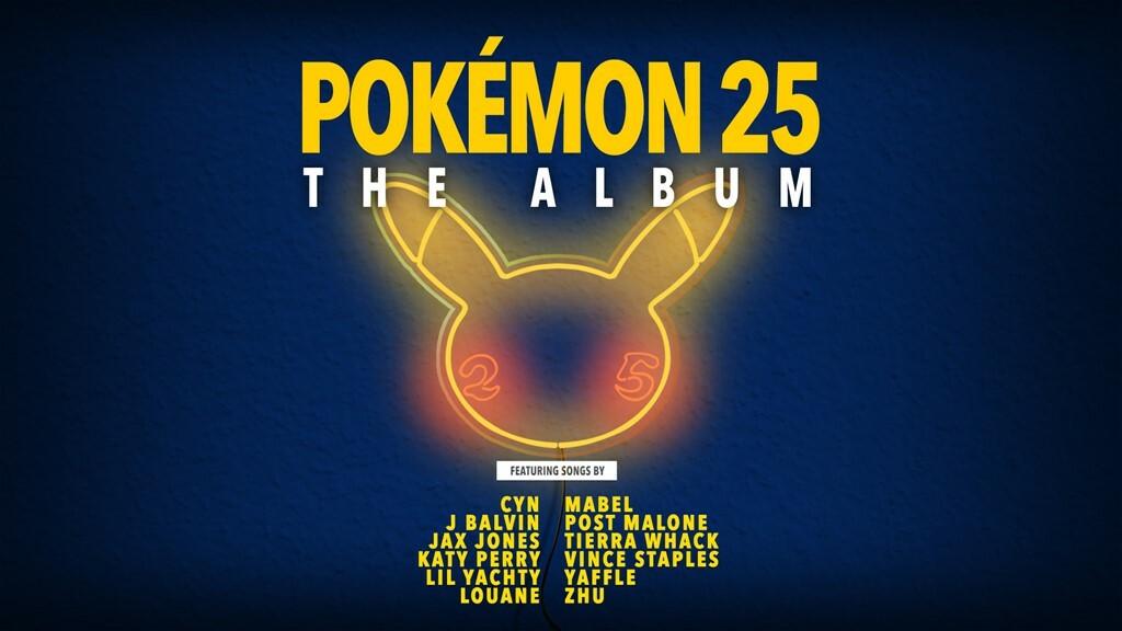 Pokémon 25: The Album se lanza en octubre