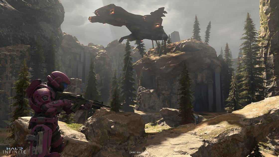 Halo Infinite's Fragmentation map brings back memories of Valhalla