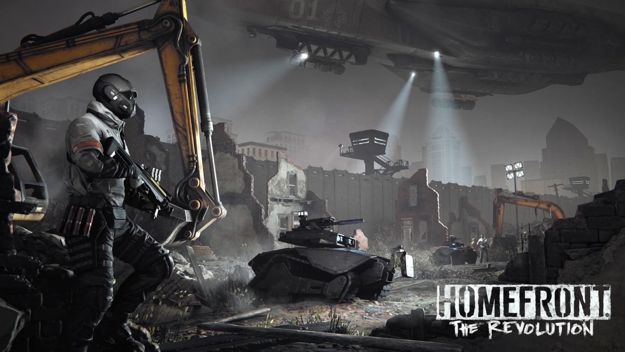 Crytek UK's in-development Homefront: The Revolution