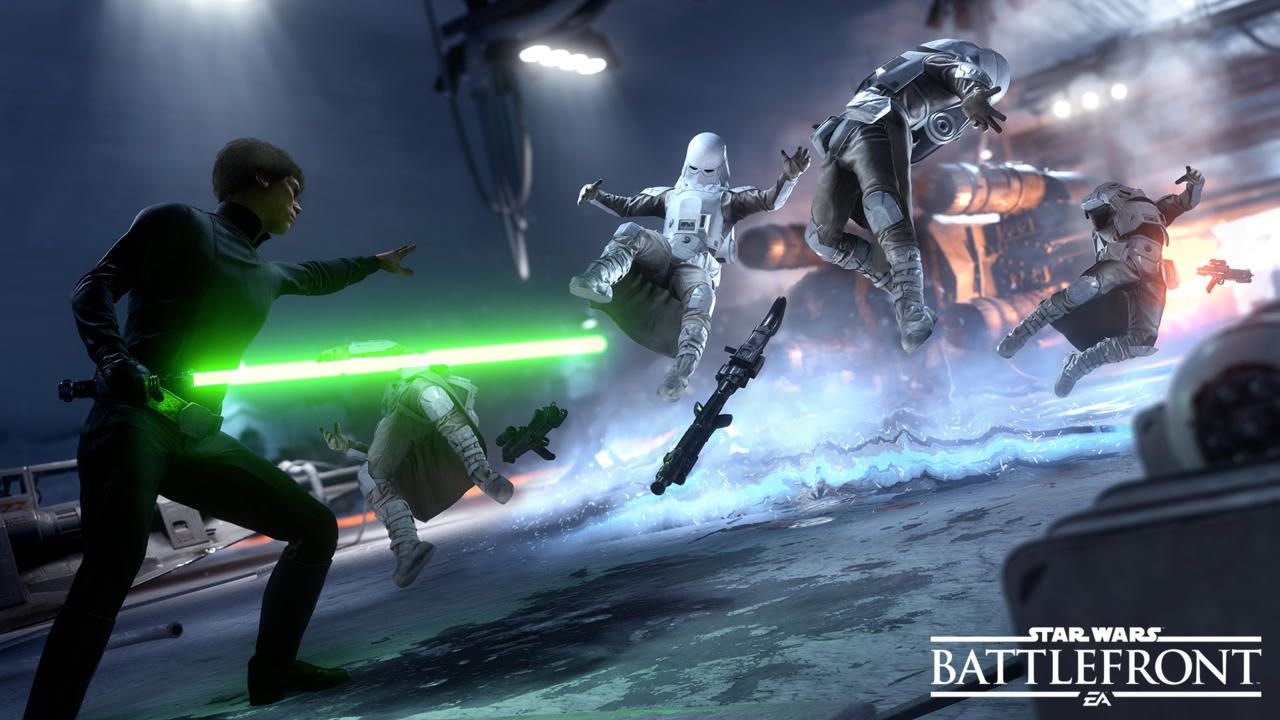 The impending launch of Battlefront certainly hasn't hurt
