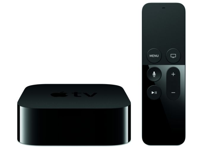 The new Apple TV and its remote