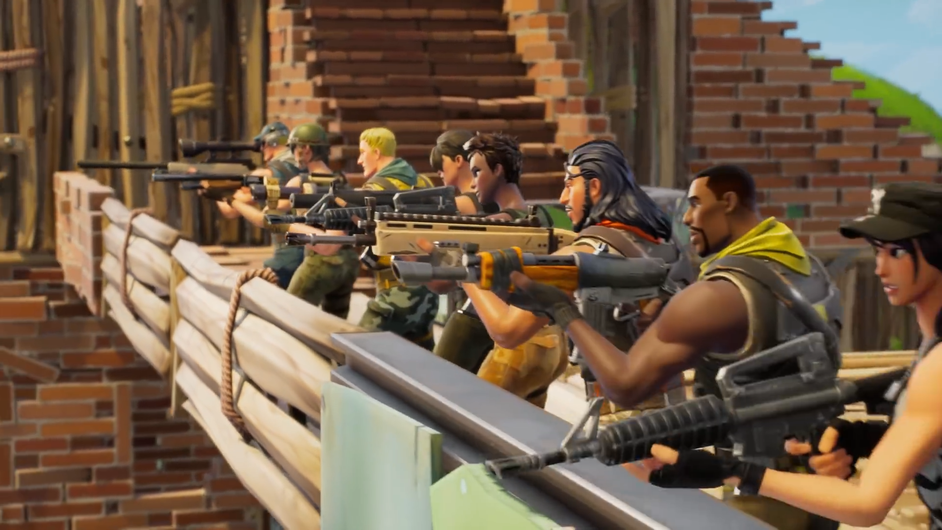 Fortnite Patchnotes 2.4 Fortnite Update 2 4 0 S Patch Notes Include A Minigun For Battle Royale Gamespot