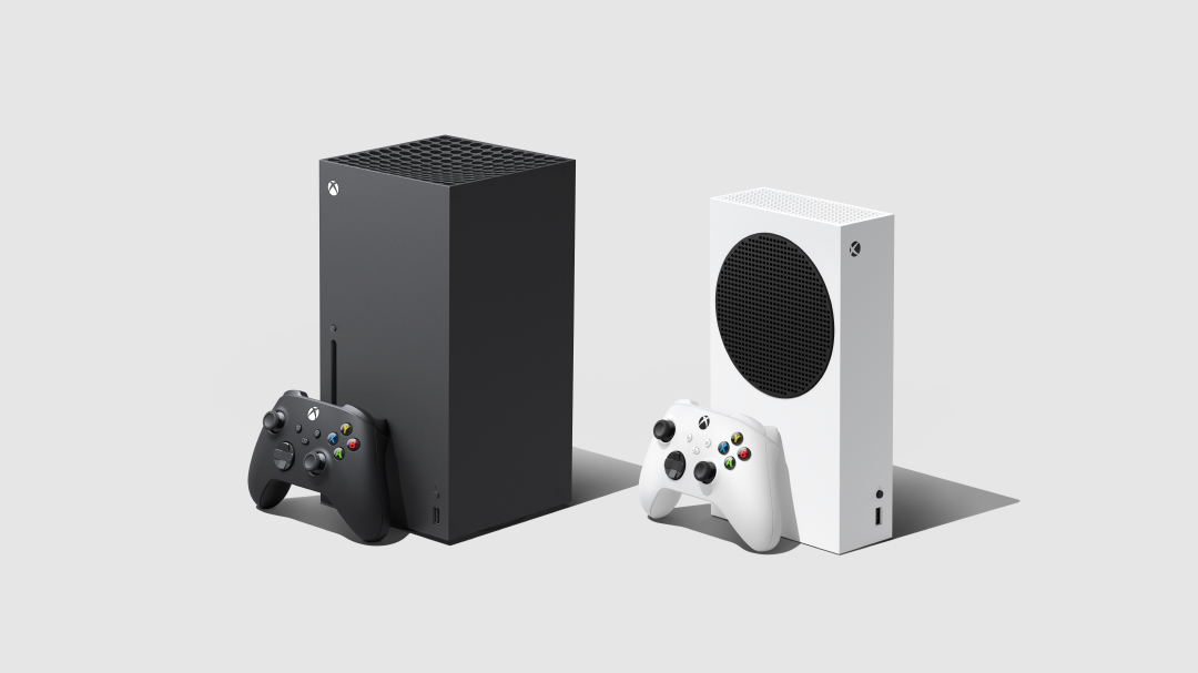 Xbox Series X and Series X side by side