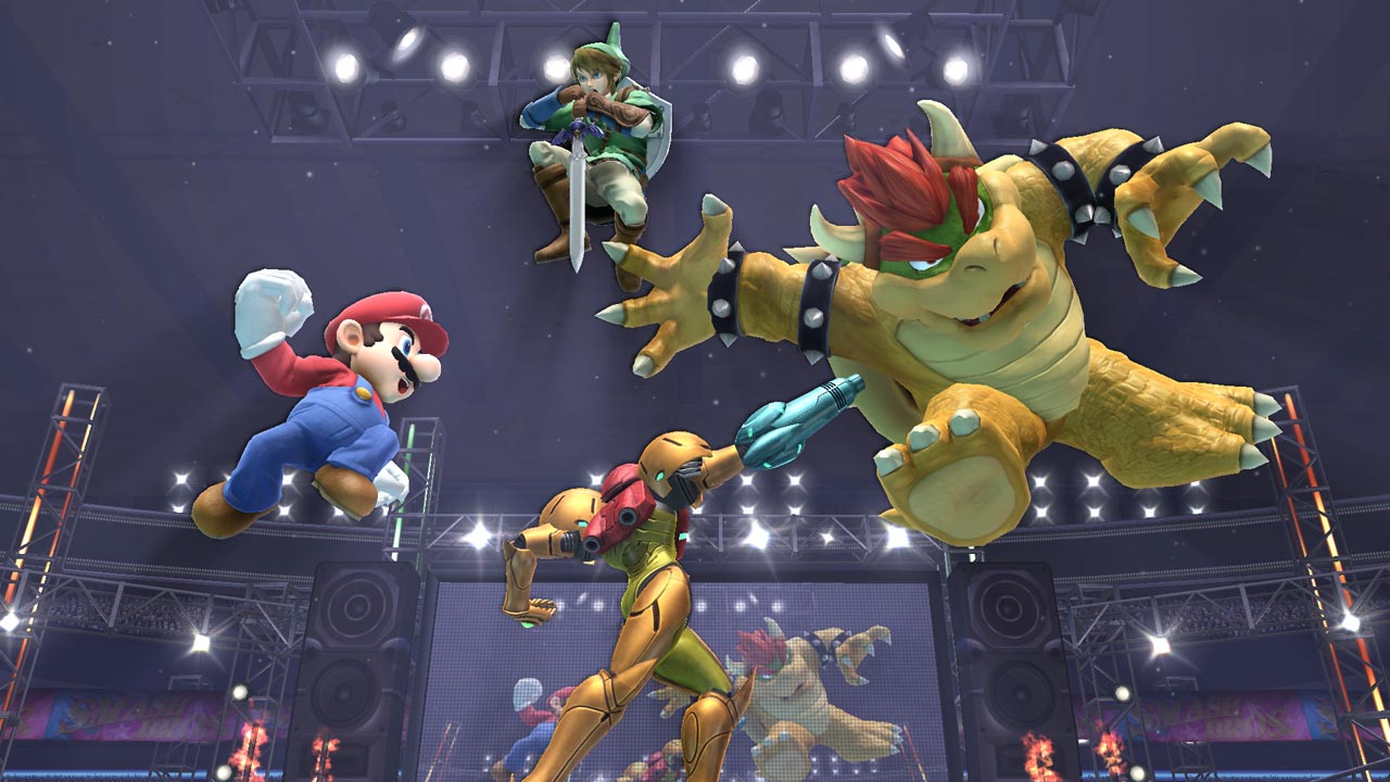 Super Smash Bros. for the Wii U, coming later this year.