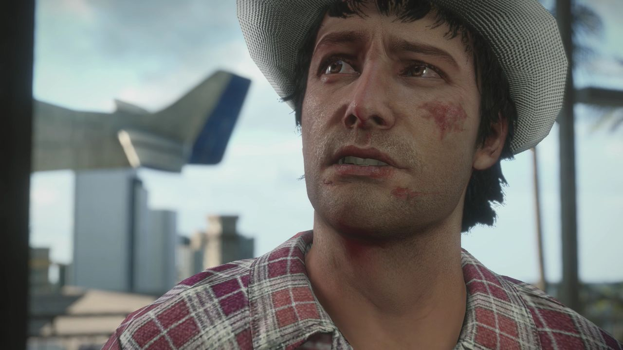 One of my only Dead Rising 3 screenshots where Nick Ramos looks normal.
