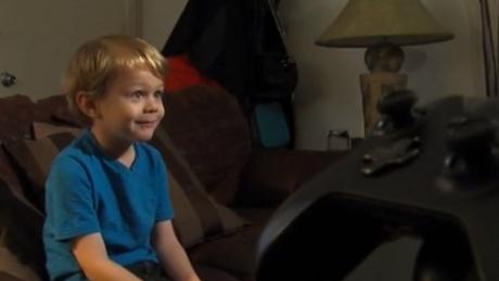 5 year old Kristoffer Von Hassel. Image credit: KGTV.