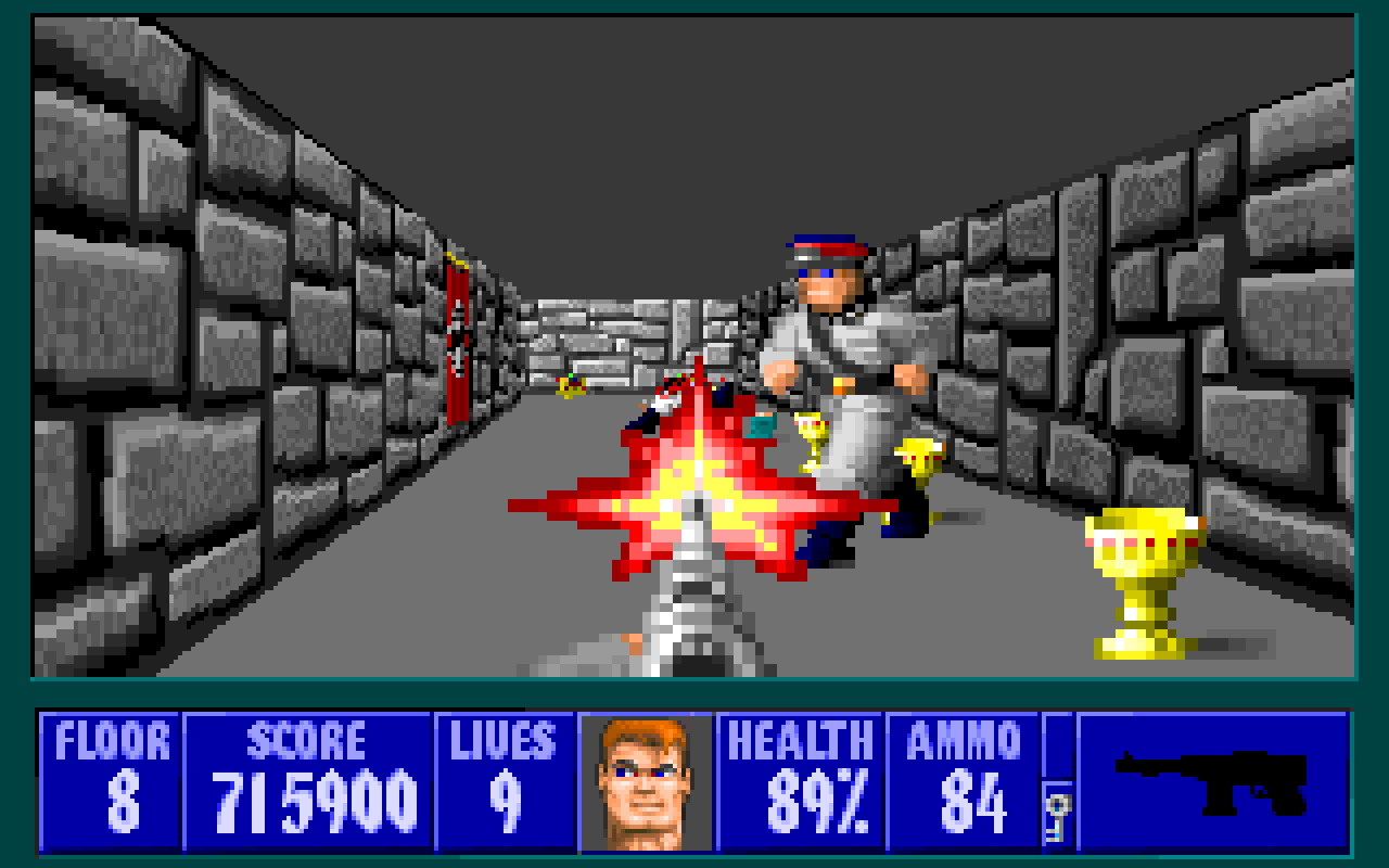 Everything you need to know about Wolfenstein is in this one screenshot.