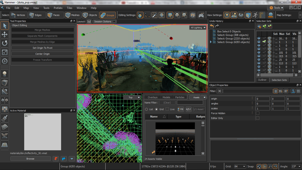 Via NeoGAF. Valve completely redesigned its map editor.