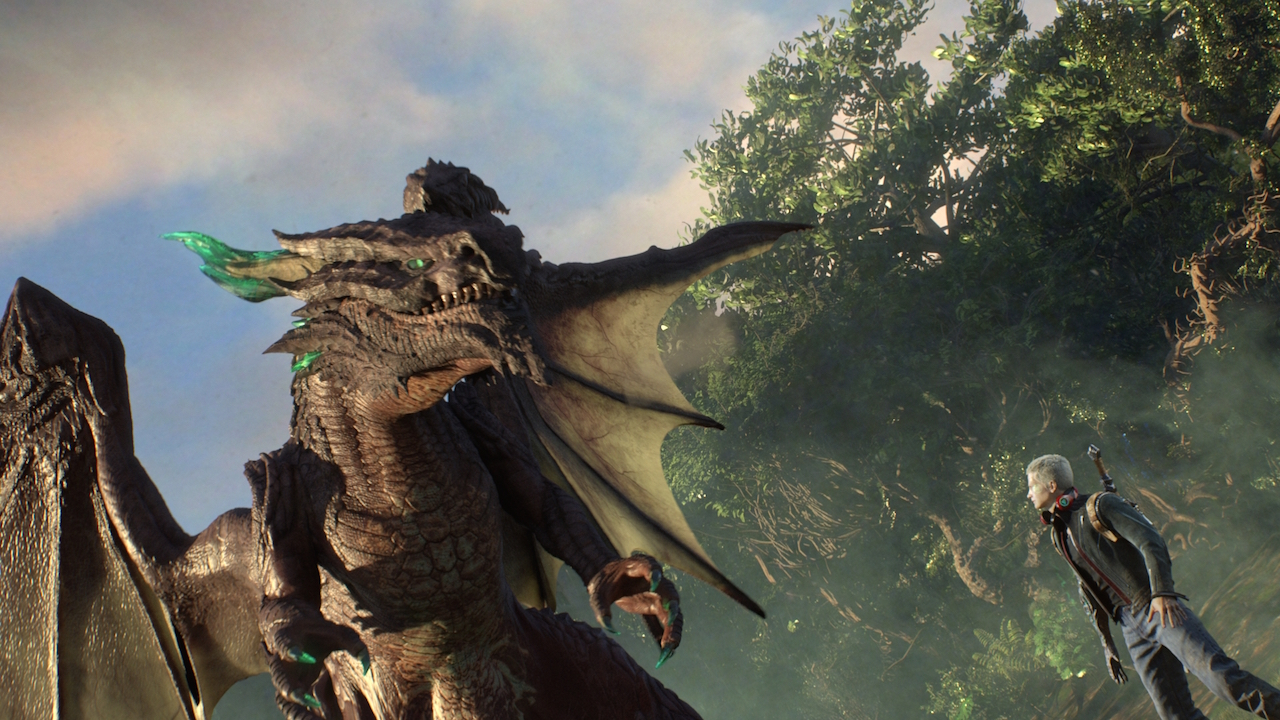Image from E3 2014's Scalebound Reveal Trailer