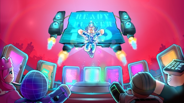 Art from Roblox's Ready Player Two hub.