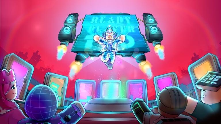 Arte do hub Player Two do Roblox.