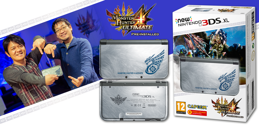 The Special Edition Monster Hunter 4 Ultimate 3DS