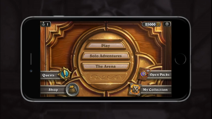 The smartphone version of Hearthstone is expected to launch in a matter of months. Click on the thumbnails below for additional images