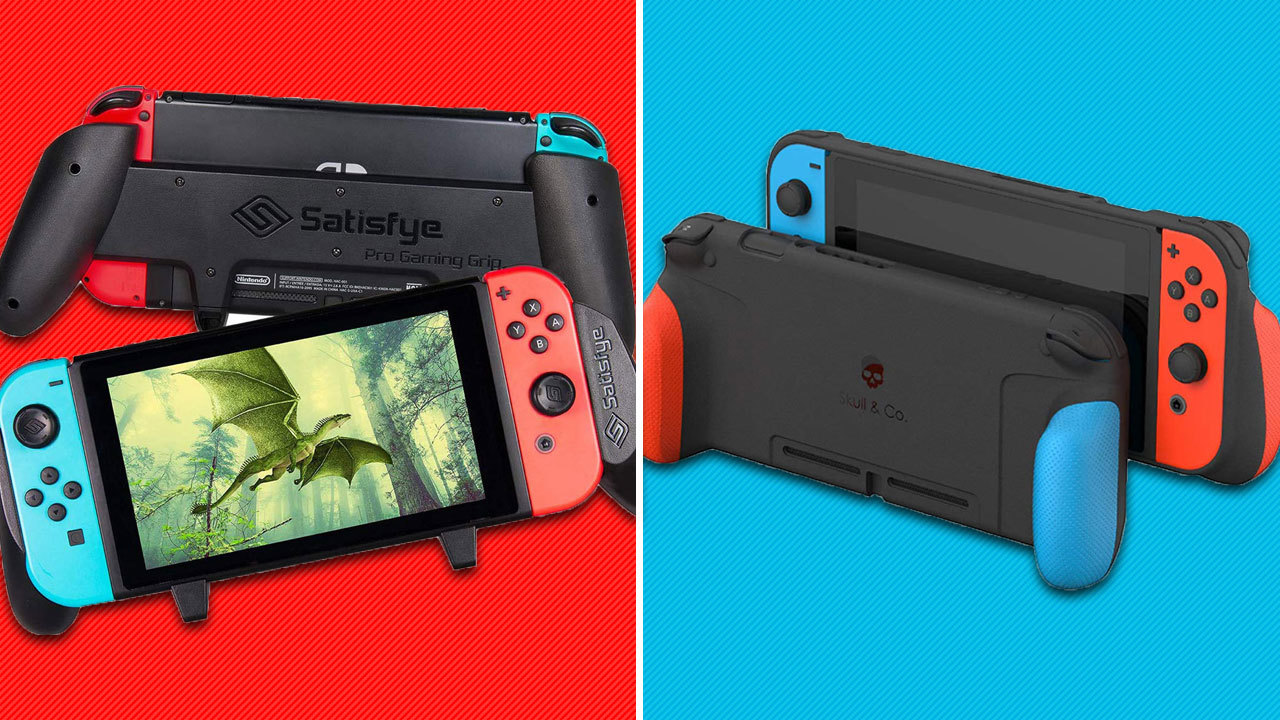 A Nintendo Switch grip case can completely transform your handheld experience.