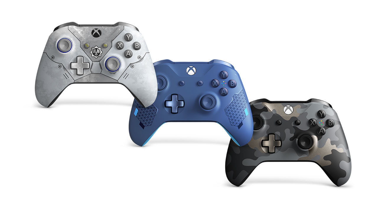 Xbox One controllers - Starting at $50