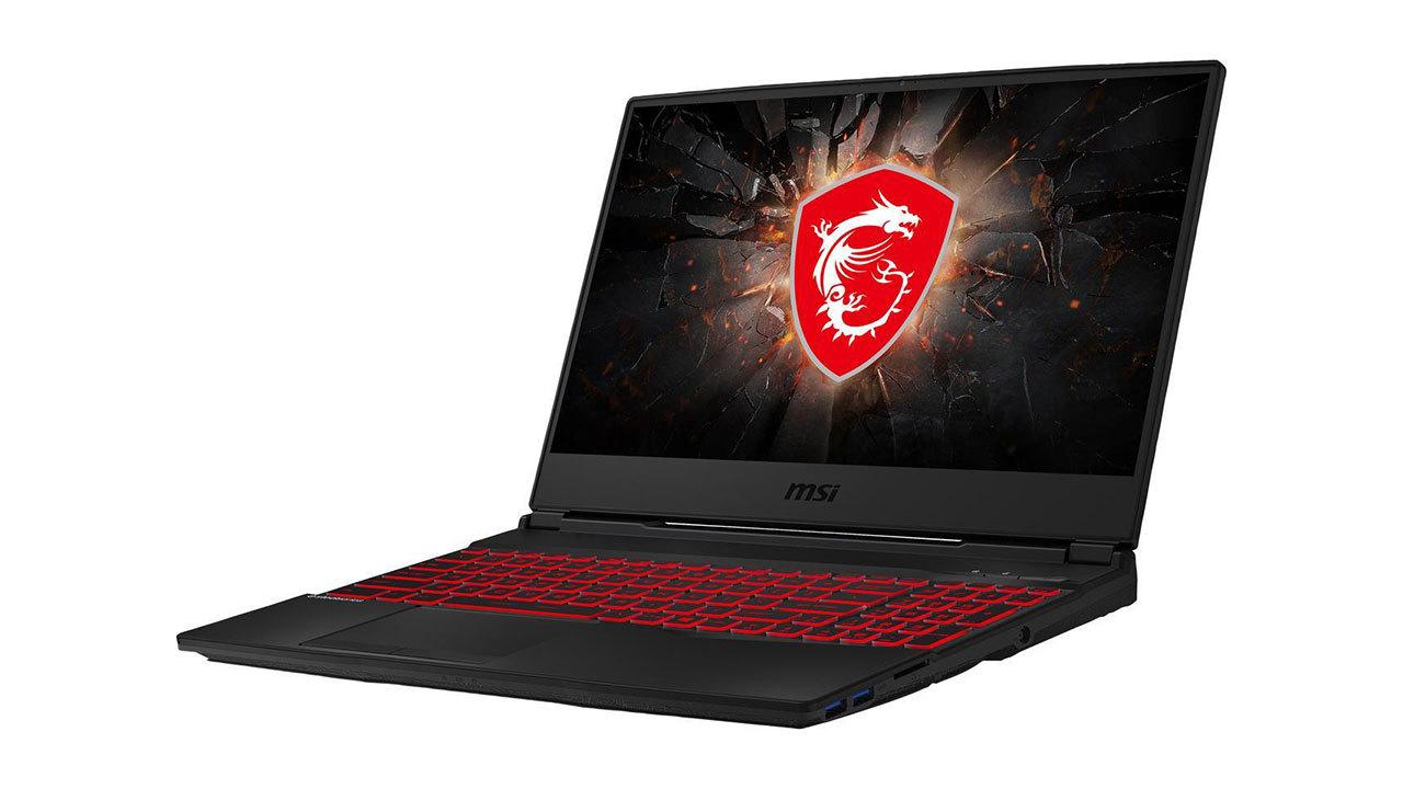 MSI GL65 15.6-inch GTX 1650 gaming laptop - $600