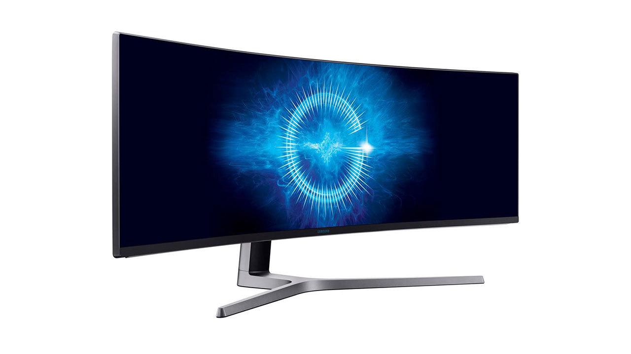 Samsung 49-inch UltraWide, 144Hz, FreeSync monitor - $800