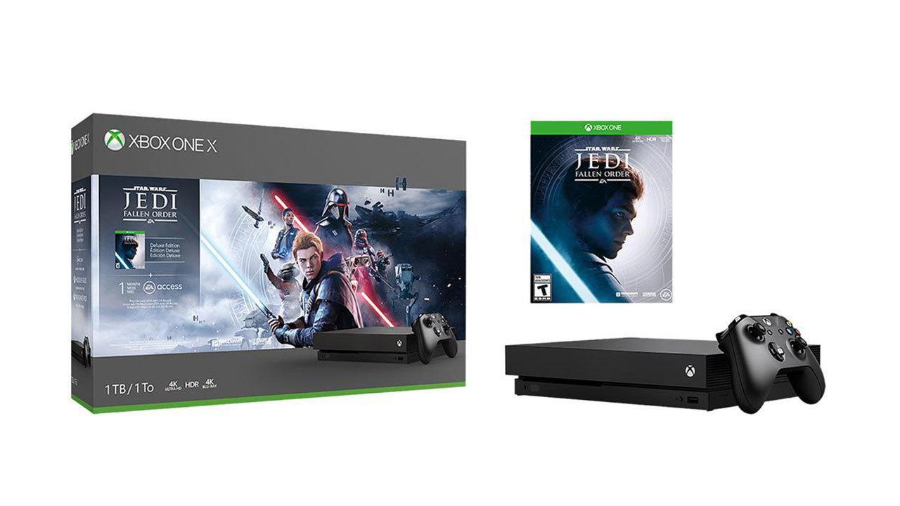 Xbox One X - Star Wars Jedi: Fallen Order bundle - $350
