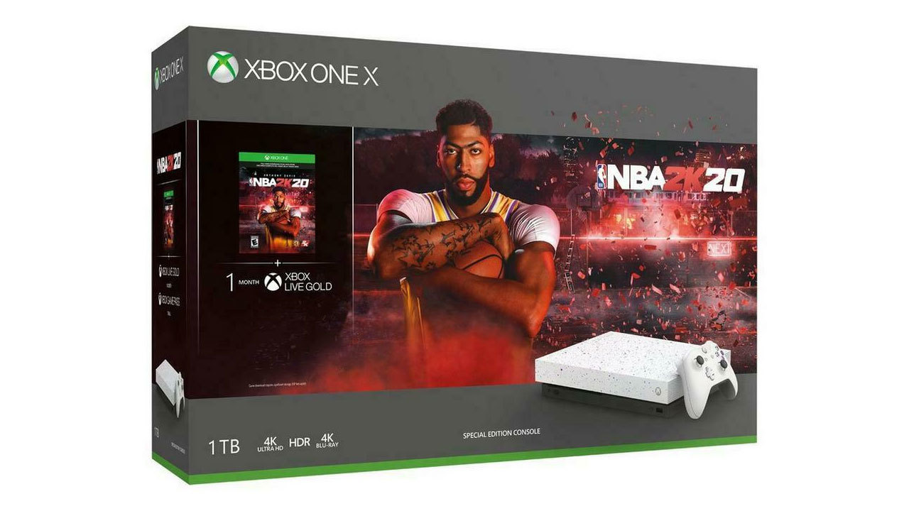 NBA 2K20 Special Edition Xbox One X for $349