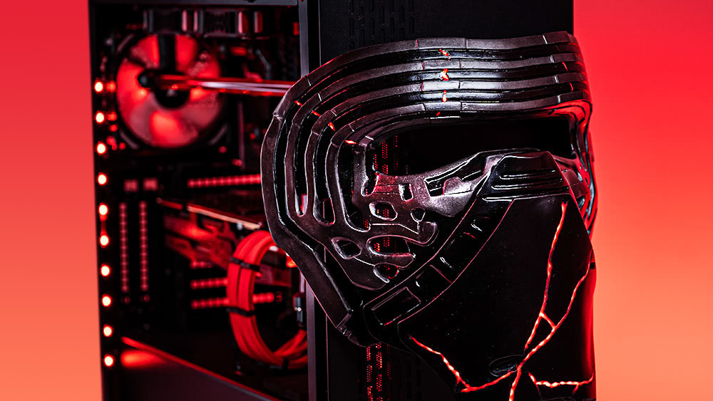Newegg and RobeyTech's custom Star Wars gaming PC