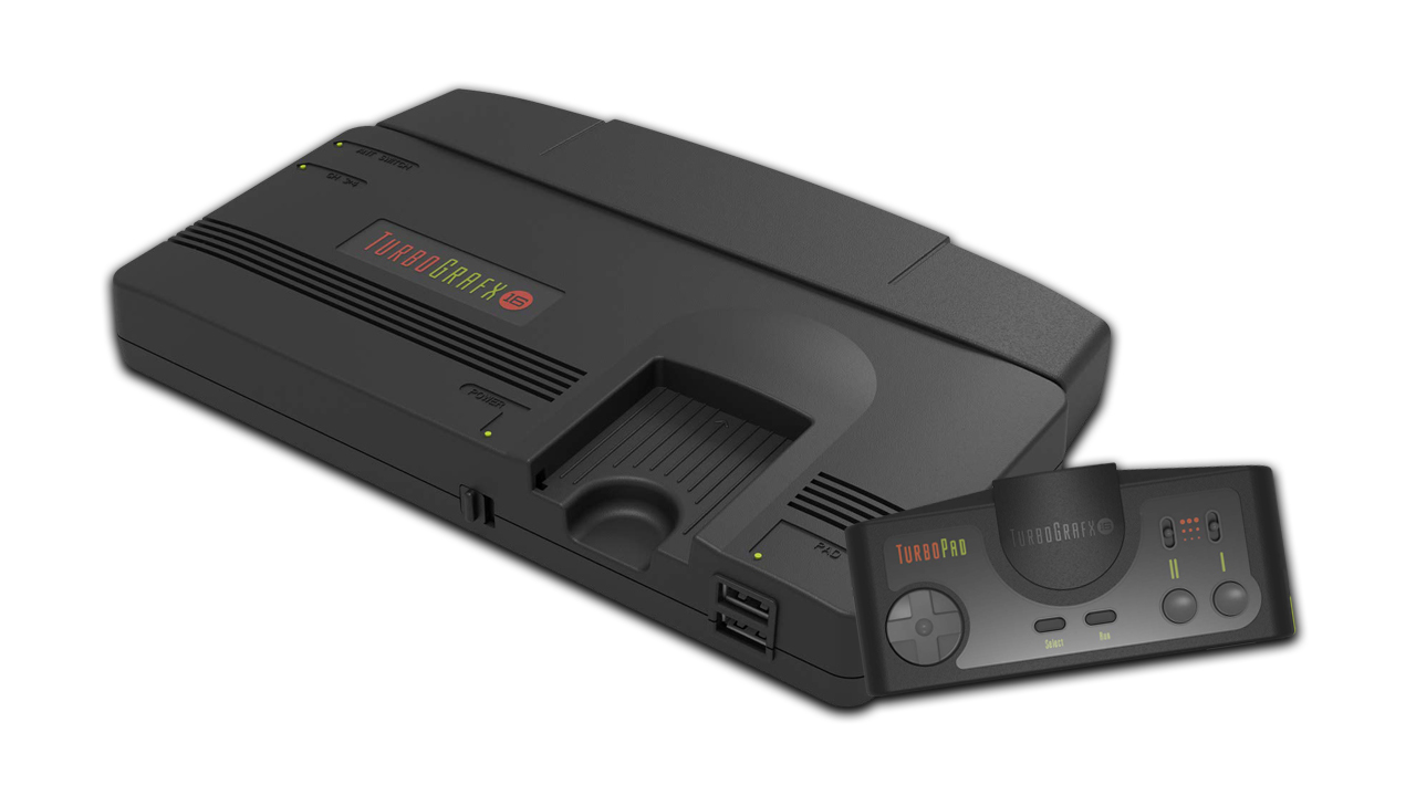 The TurboGrafx-16 Mini and its controller