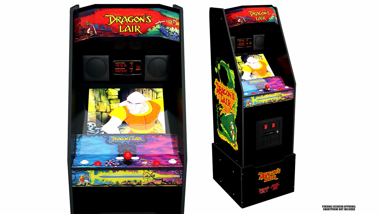 Dragon's Lair cabinet (with riser)