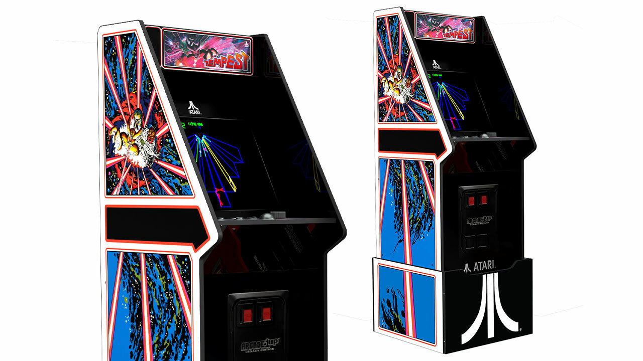 Atari Legacy Edition cabinet (with riser)