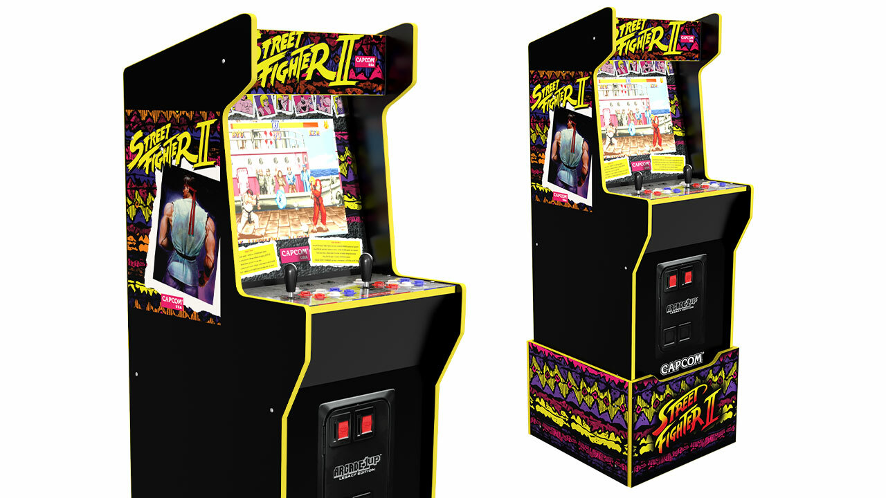 Capcom Legacy Edition cabinet (with riser)