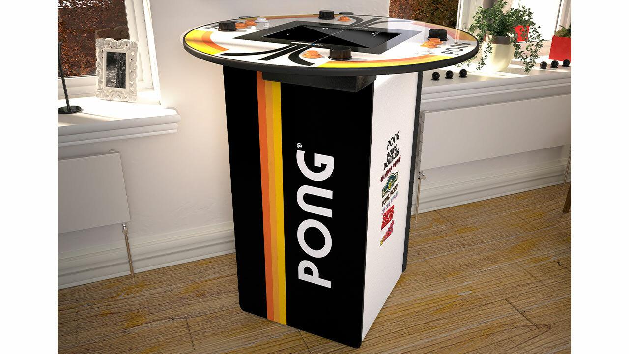 Pong four-player pub table