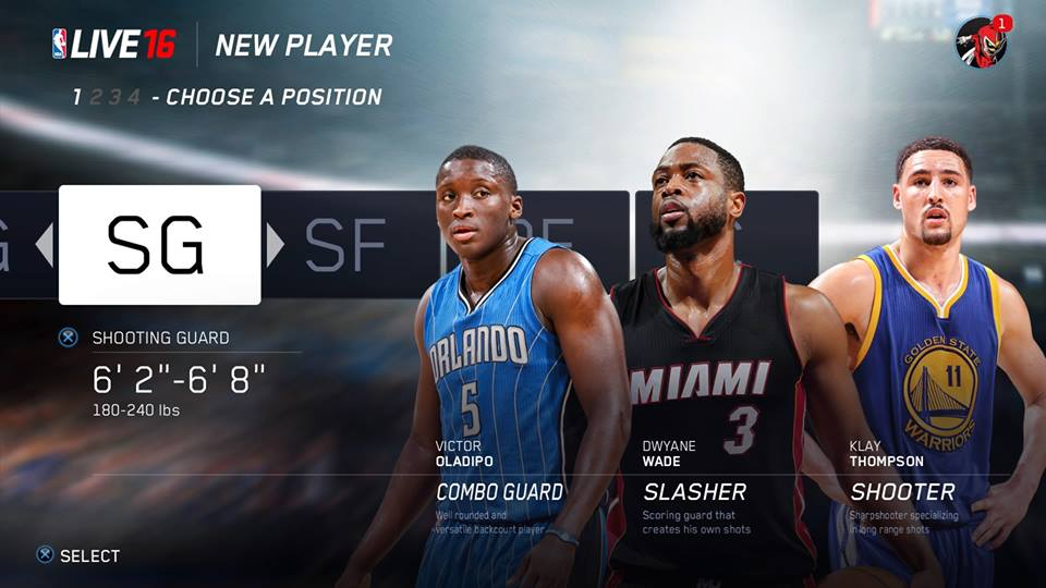 Beyond choosing between being a point guard or a power forward, Rising Star lets you determine style of play.