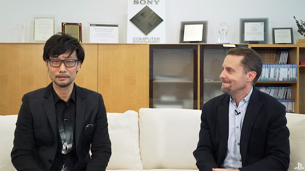 Hideo Kojima and Andrew House, President of Sony Computer Entertainment