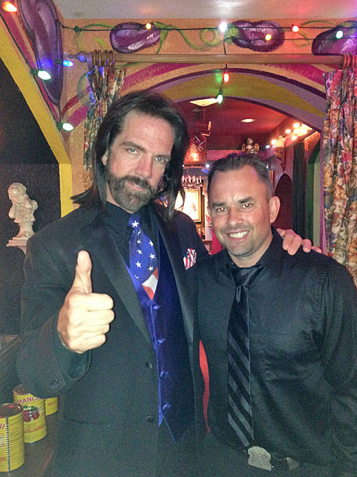Billy Mitchell (Left) and Richie Knucklez (Right) Image Credit: Non-Sport Update Magazine