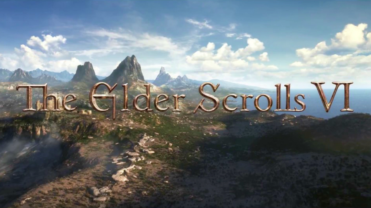 Aside from the logo, there's not much to go off of yet from the upcoming The Elder Scrolls VI.