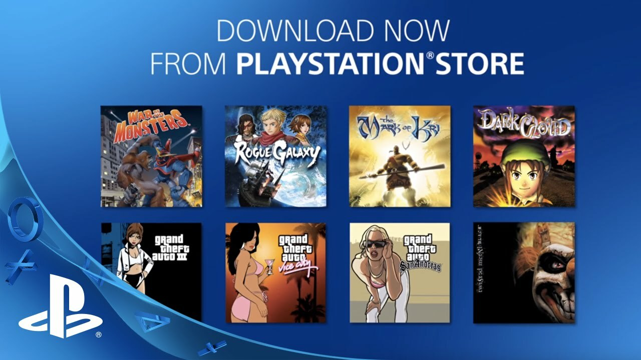 It's easy to forget, but PS4 did have PS2 games you could play via emulation.