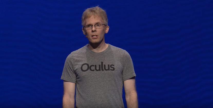 Oculus chief technology officer and ex-ZeniMax employee John Carmack.
