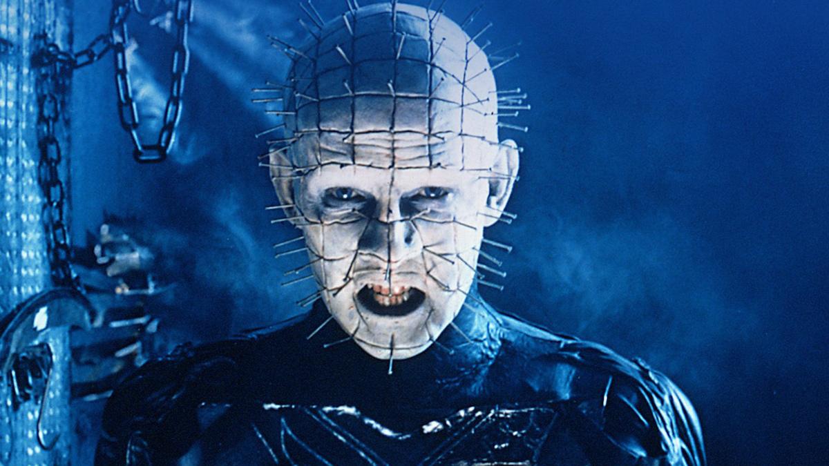 Doug Bradley como Pinhead no Hellraiser original