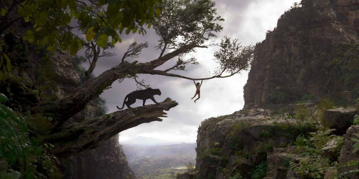 One of The Jungle Book's gorgeous natural landscapes.
